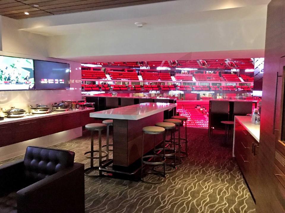 Detroit Pistons Suite Rentals Little Caesars Arena