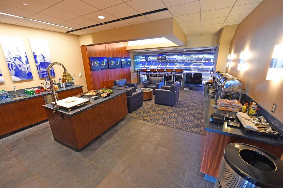 Indianapolis Colts Stadium Seating Chart