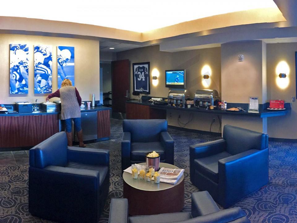 Indianapolis Colts Suite Rentals | Lucas Oil Stadium
