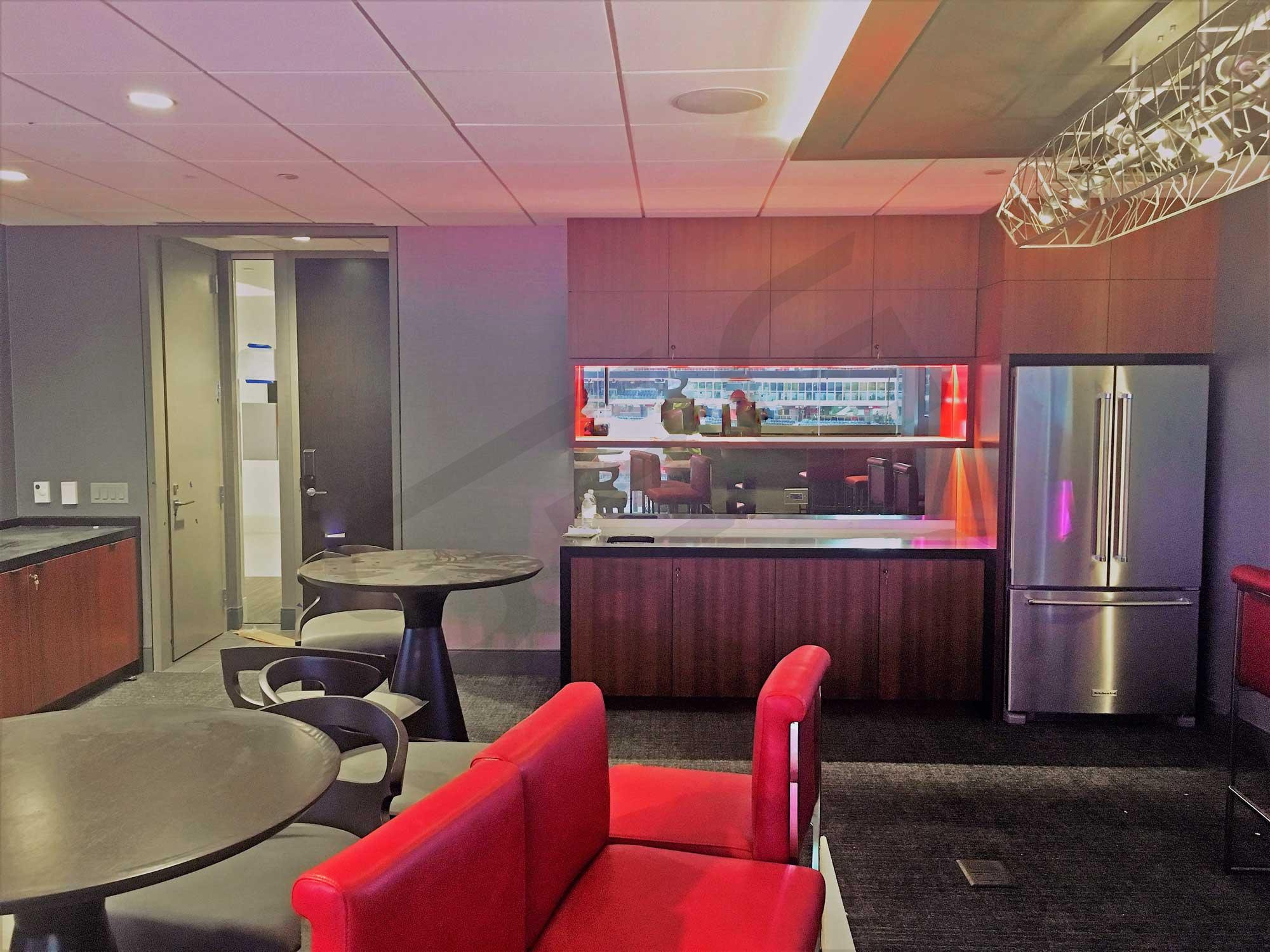 Atlanta Falcons Suite Rentals   Mercedes-Benz Stadium