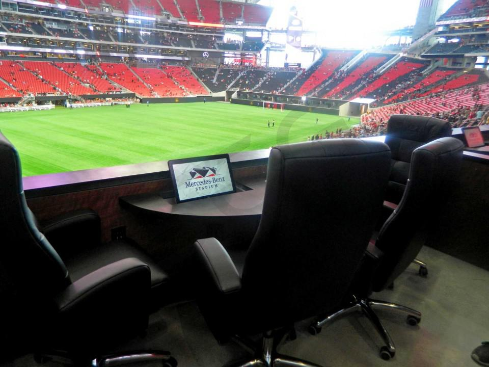 Mercedes Benz Stadium Suite Rentals Suite Experience Group