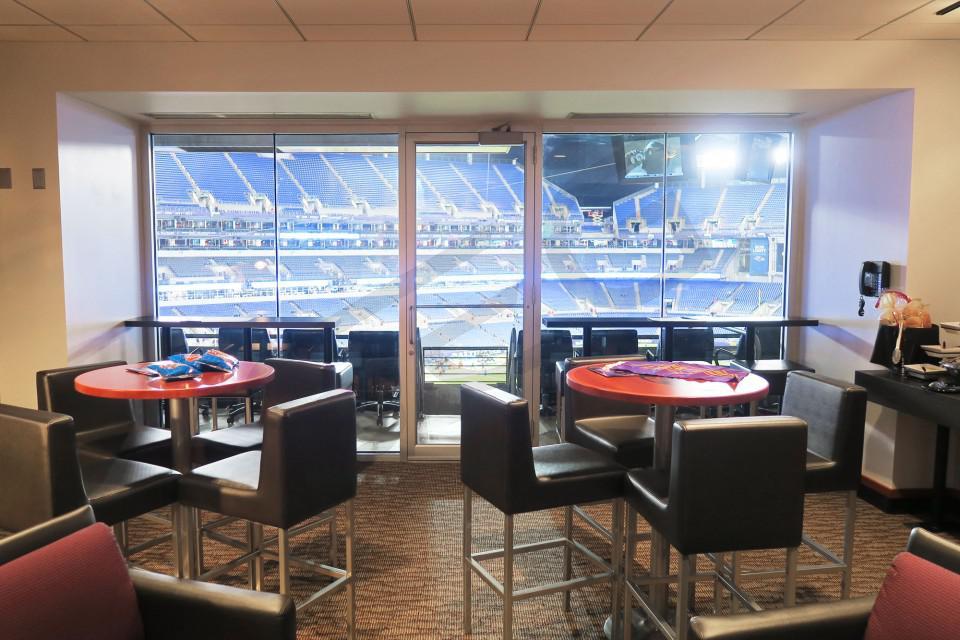 Baltimore Ravens Suite Rentals Mt Bank Stadium