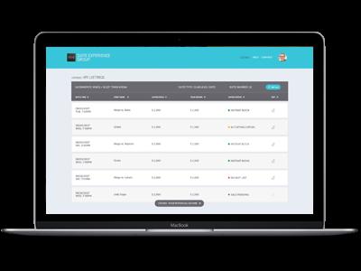 Owners Portal screenshot