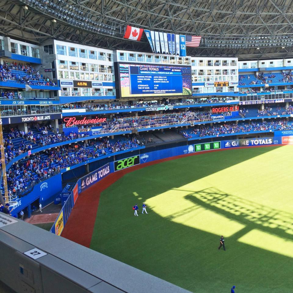 Toronto Blue Jays Suite Rentals Rogers Centre