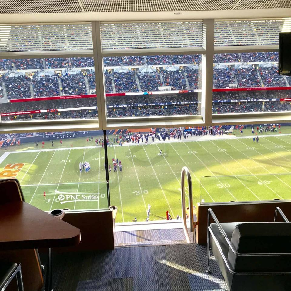 Chicago Bears Suite Rentals Soldier Field