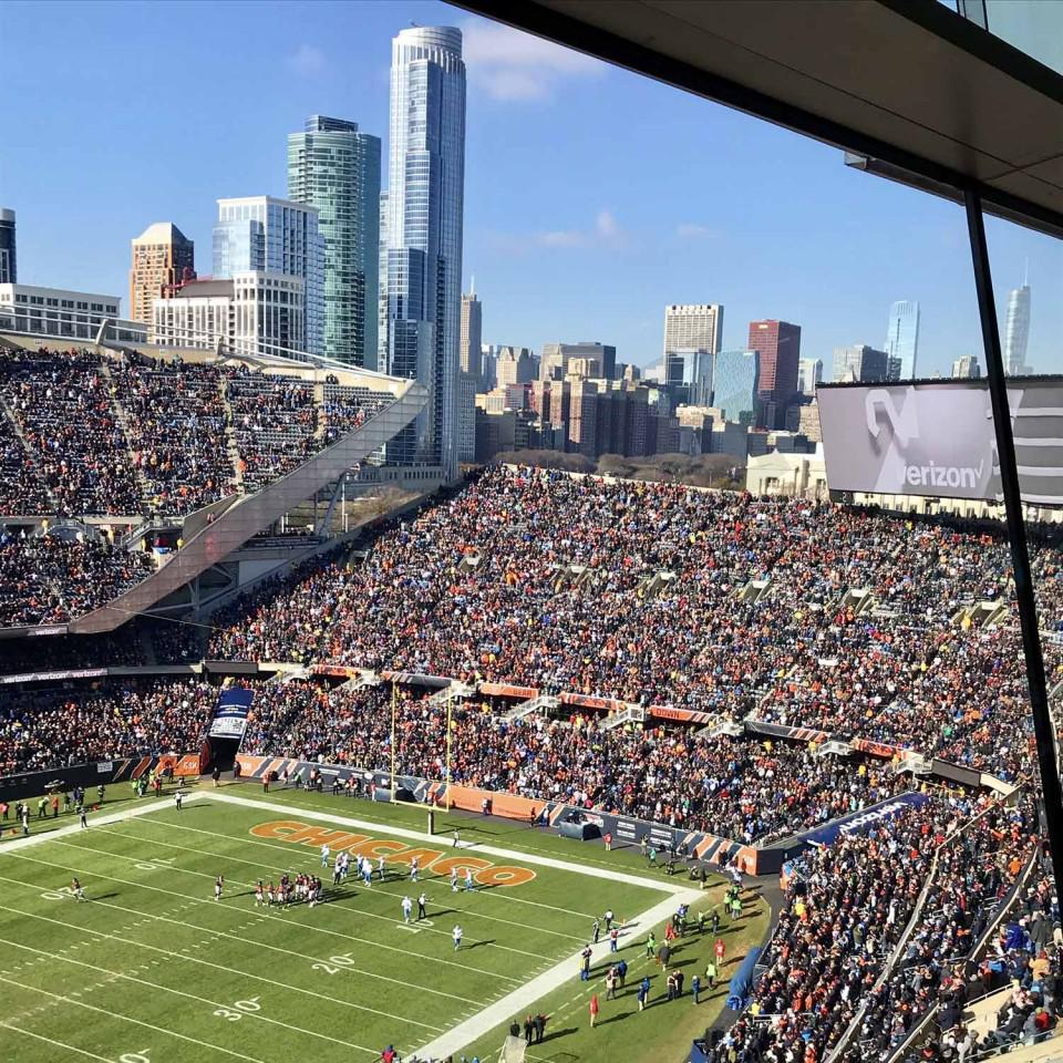 official photos 5cb4d 4ecdf Chicago Bears Suite Rentals | Soldier Field