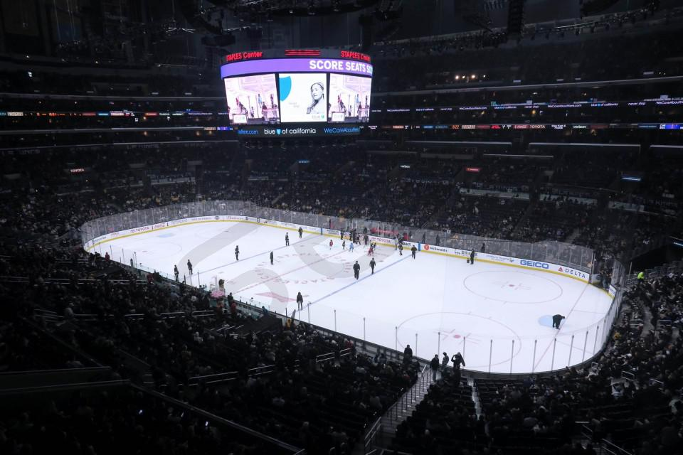 Los Angeles Kings Suite Rentals Staples Center