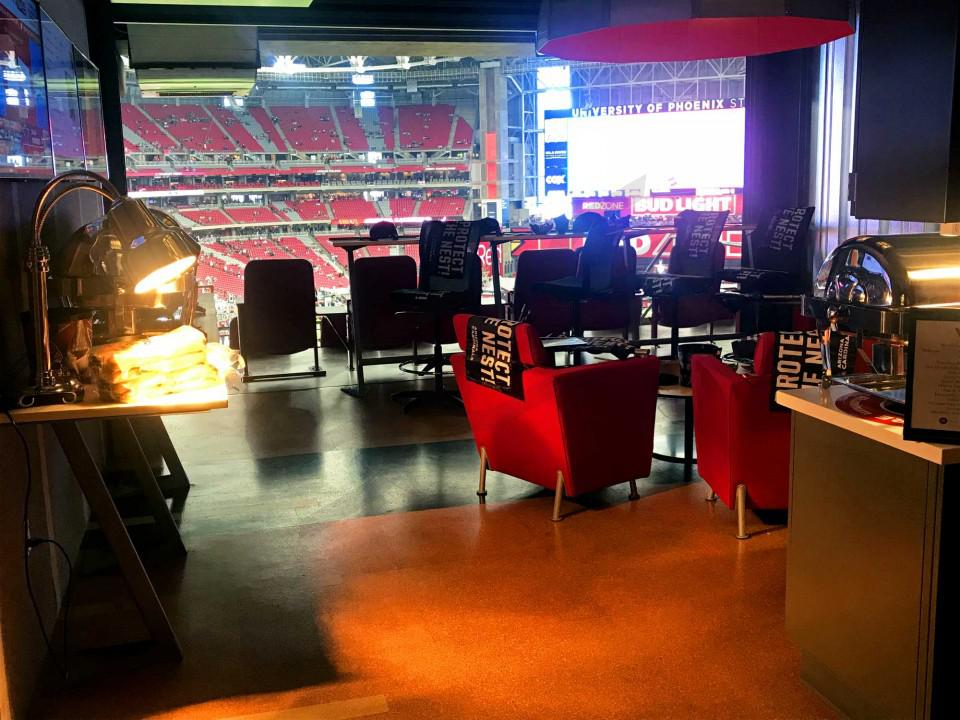Arizona Cardinals Suite Rentals | State Farm Stadium (Formerly