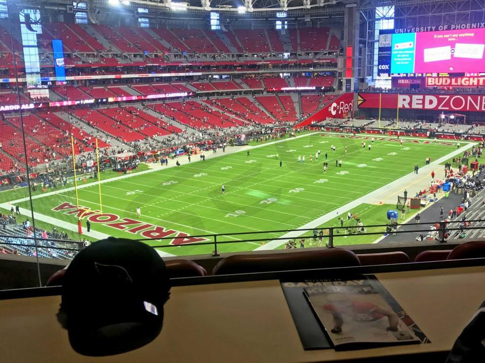 9875ac37 Arizona Cardinals Suite Rentals | State Farm Stadium (Formerly ...