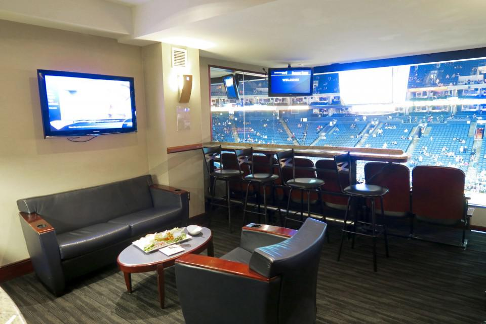 Oracle Arena Concourse Level Suite Interior