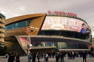 T-Mobile Arena in Las Vegas, NV