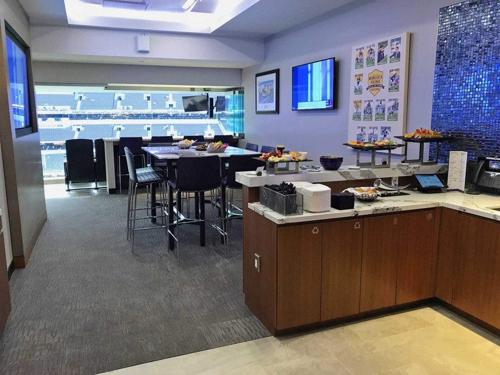 Norseman Suite at US Bank Stadium